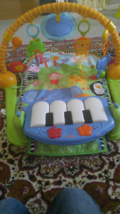 Fisher Price Kick and Play Gym and Piano