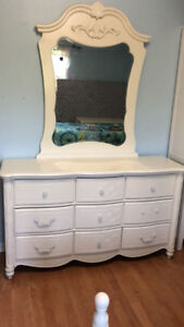Girl bedroom set solid wood