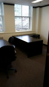 Granville and W. Hastings office sub lease available