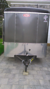 2017 Atlas 6 x 10 Enclosed Trailer