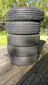 5 tires 215/70 r15