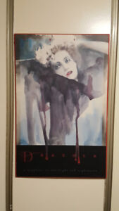 picture...Dracula... print on hard backing