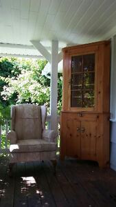 Chairs and China Cupboard for sale