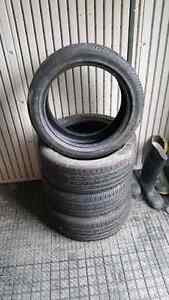 """4 Continental 16"""" Tires ( 195/45 R 16)"""