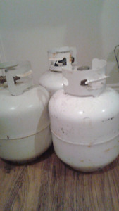 3 propane tanks for sale
