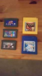 Gameboy/GBA Games
