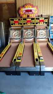 SKEEBALL MACHINES, PINBALL MACHINES  MUCH MORE