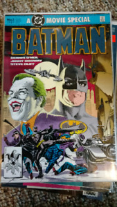 Batman comics and detective comics. Random issues