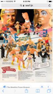 Looking for WWF LJN Wrestling Figures