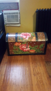 Hand painted treasure chest for sale