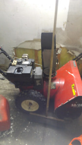 Selling good working snow blower 100 obo need cash