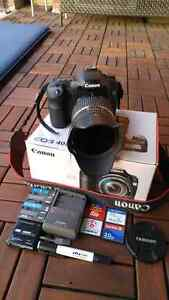 Canon DSLR 40D with Tamron 18-270mm lens package set