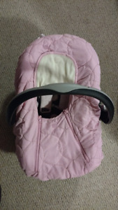 Stroller carseat and base
