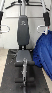 Appareil multi station gold gym xrs30