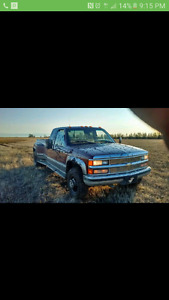 Chevy dually wanted!