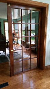 Beautiful Wooden French Door