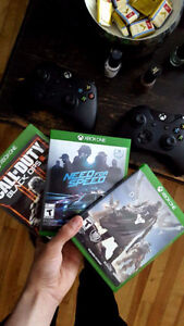 Bo3 et need for speed xbox one