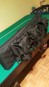 Tactical Gun Bag Black  (paintball)