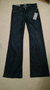 BNWT 7 for all Mankind dojo flare jeans (26)