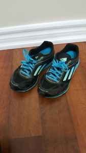 GENTLY USED size 6.5 WOMEN'S ADIDAS RUNNING SHOES...$25!!!