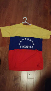 two Pan American Paralympic Games Official T-shirts (VEN, ARG)