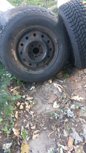4  Ford winter tires & Rims