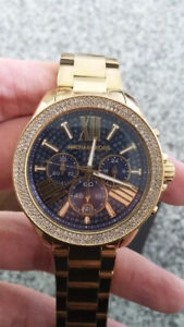 Michael Kors watch with crystals $250 OBO