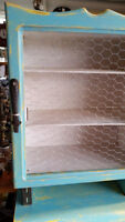 REDUCED to clear: Upcycled Hutch