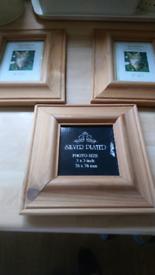 Photo frames x3. 📷📷📷📷📸Reduced. 📸📸📸📸📸⭐⭐⭐⭐⭐