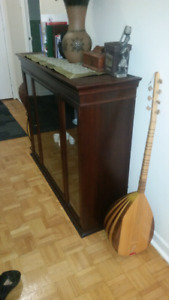 Moving sale.. Nice wood table shelf or tv stand