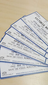 Royals hockey tickets - March 3rd game