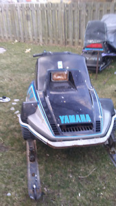 Yamaha. Srv 540.  Part out
