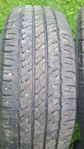 """A pair (2) of 205/65/16"""" Tires (Mud+ Snow)"""
