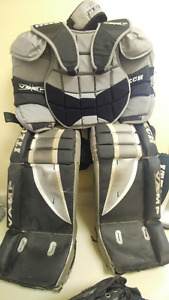 Itech Street Hockey Goalie Set 22 inch Regular-Used
