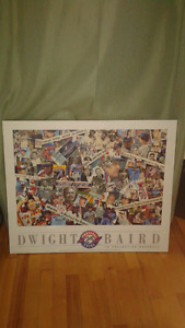 Montreal Expos 25th anniversary poster board
