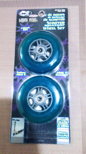 Cycle Express Liquid Metal Scooter Wheel set with Abec5 Bearings