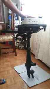 2 HP johnson outboard motor