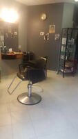 Hairstylist seat for rent (Mississauga) - Excellent Opportunity