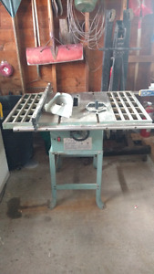 """King 10"""" tablesaw"""