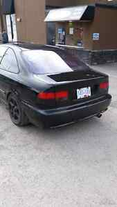 2000 Honda Civic SiR  Trade for jeep or chevy. Williams Lake Cariboo Area image 4