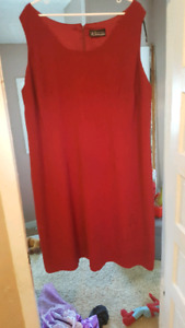 Red dress size 2x great condition
