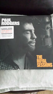 PAUL RODGERS !THE ROYAL SEESIONS VINYL ! BRAND NEW !