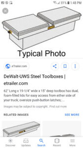 Dewalt tool box lock and keyed
