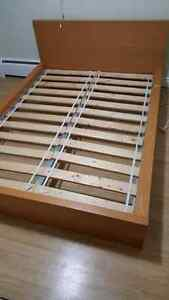 Double ikea bed frame.