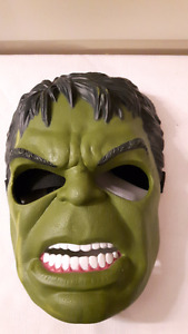 The Incredible Hulk Mask and Gloves