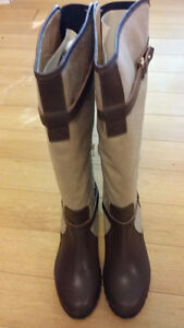 Claudia Ciuti Women's Tamara Riding Boots Size 10.5  Italy New
