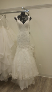Eloise Marie Couture Wedding Dress/Gown (Size 0) - Never worn