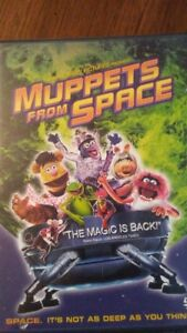 Movie Muppets from Space DVD