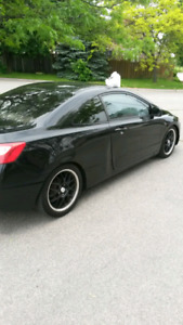 2006 Honda Civic Coupe 5SPD (NEEDS WORK)