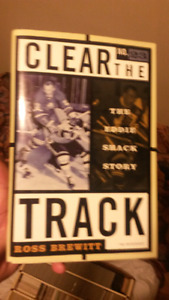 Clear the Track - the Eddie Shack Story Hard cover